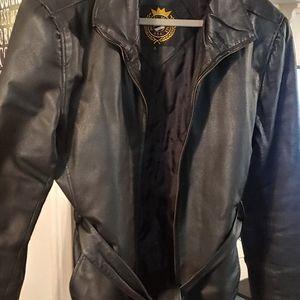 Michael Michelle leather jacket.